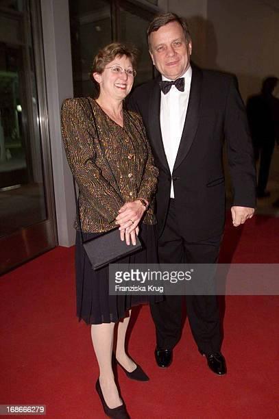 Hartmut Mehdorn and wife Helene Ball Of Sports in Frankfurt Am 020202