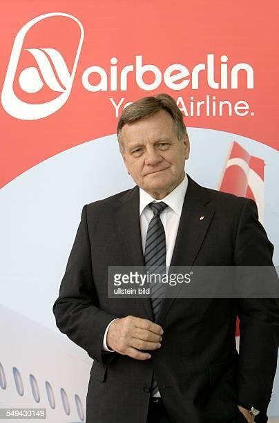 Hartmut Mehdorn CEO Air Berlin