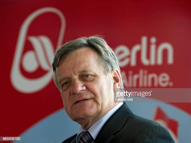 Hartmut Mehdorn CEO of AirBerlin