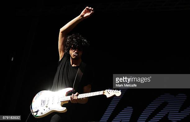 Harts performs during Splendour in the Grass 2016 on July 23 2016 in Byron Bay Australia