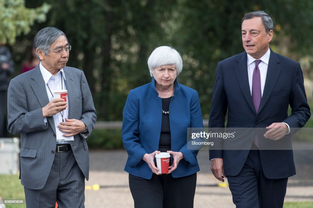 Federal Reserve Jackson Hole Economic Symposium : ニュース写真