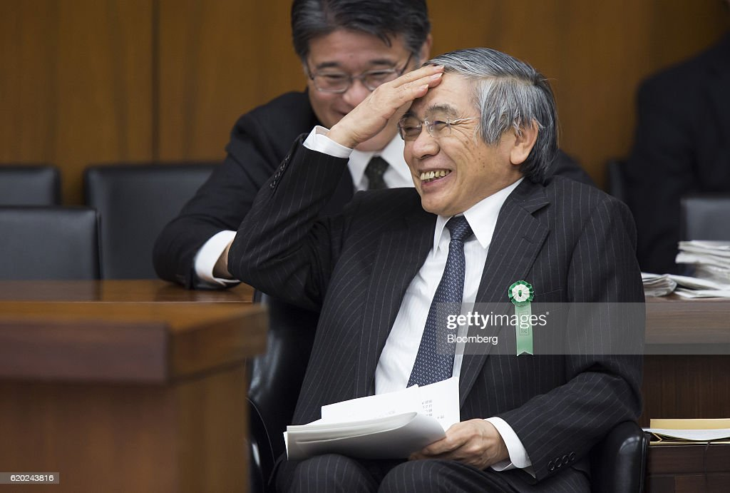 Bank of Japan Governor Haruhiko Kuroda Speaks At Parliament