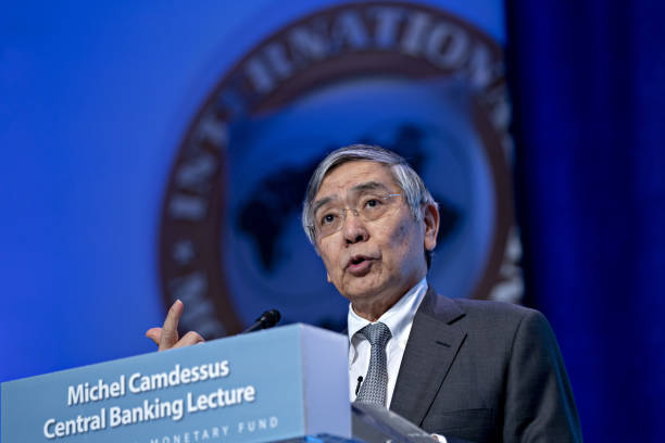 DC: Bank Of Japan Governor Haruhiko Kuroda Speaks At IMF Lecture Series