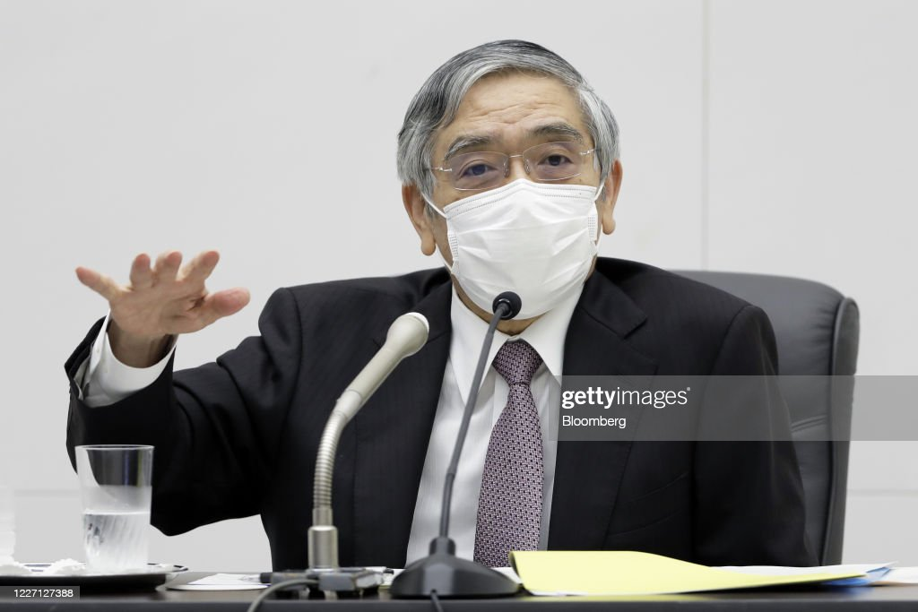 BOJ Sits Tight While Taking Gloomier View of Economy This Year : News Photo