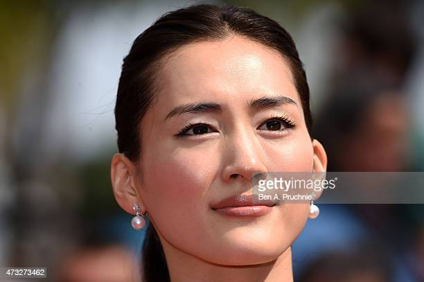 Haruka Ayase attends the Premiere of 'Umimachi Diary' during the 68th annual Cannes Film Festival on May 14 2015 in Cannes France