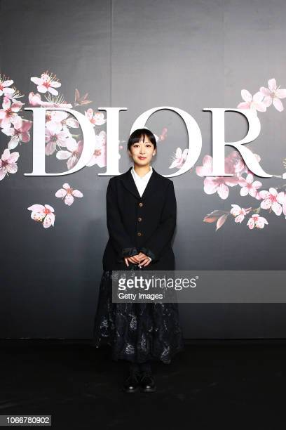 Haruka Kojin attends the photocall at the Dior Pre Fall 2019 Men's Collection on November 30, 2018 in Tokyo, Japan.