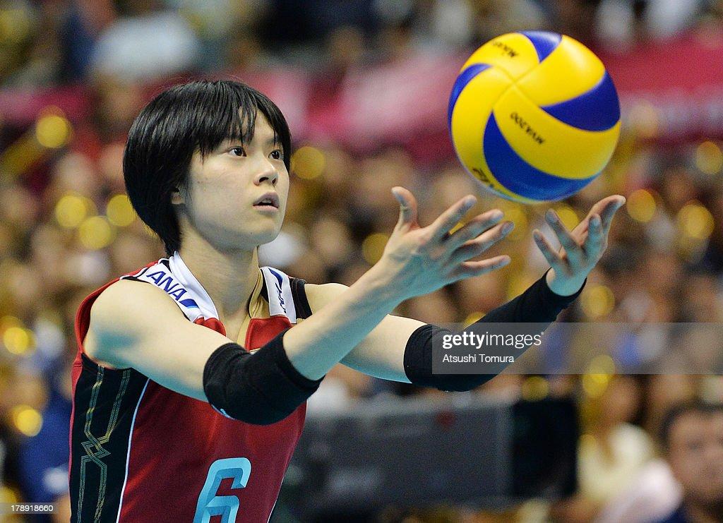 Japan v China - FIVB World Grand Prix Sapporo 2013 Day 4 : ニュース写真