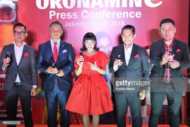 Haruka Nakagawa a former member of Jakartabased allfemale idol group JKT48 and promotional ambassador for Otsuka Pharmaceutical Co's longselling...