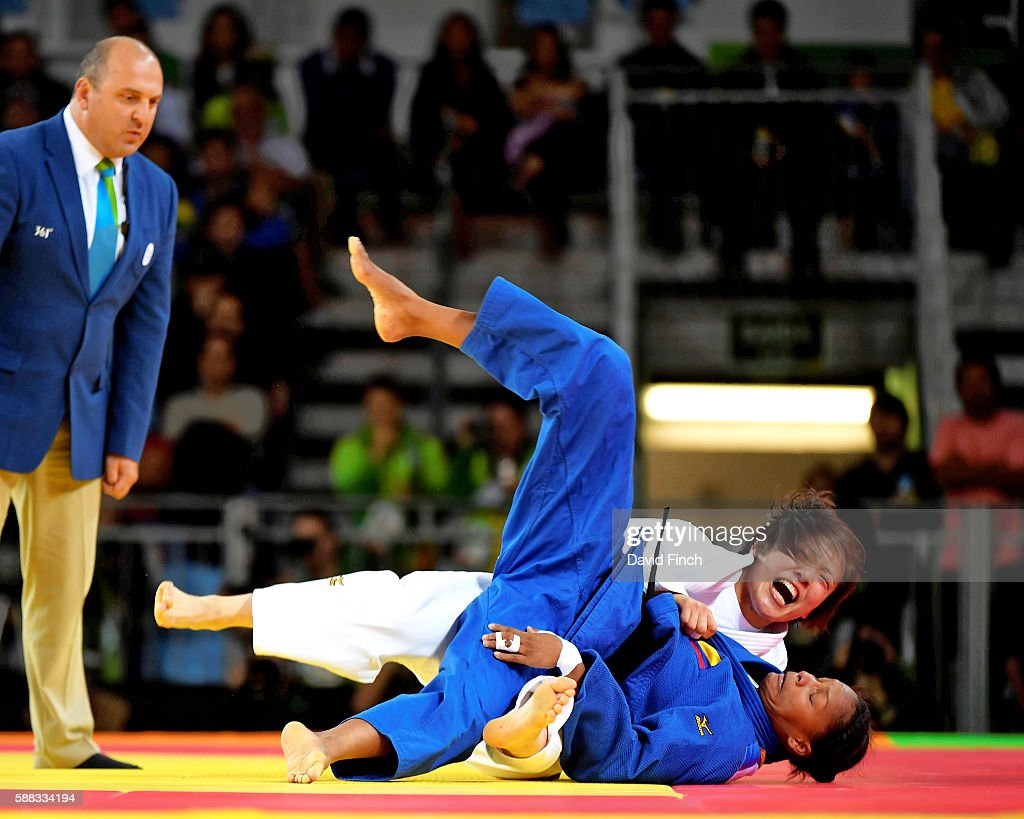 2016 Rio Olympic Judo - Day 5 : News Photo