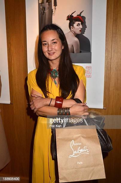 Harumi Klossowska de Rola attends the Christian Louboutin 20th Anniversary Book Launch at Christian Louboutin - Galerie Vero-Dodat on November 21,...