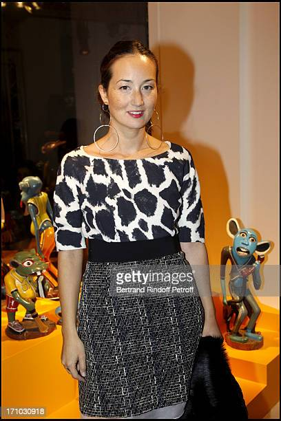 Harumi Klossowska of Rolla at Every Journey Began In Africa Party For The Exhibition Africa Rising And The Discovery Of The Collaboration Between...