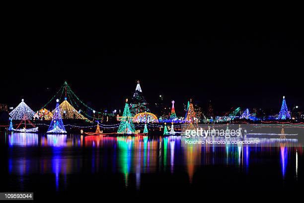 Haruna Lake, Illumination, Festival