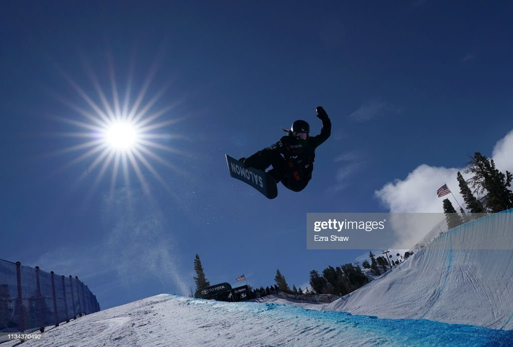 CA: 2019 U.S. Grand Prix at Mammoth Mountain - Snowboard Halfpipe Qualifiers