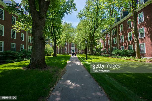 Harvard Business School campus in Boston MA on May 29 2014