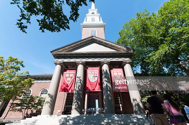 Harvard Church on Harvard Campus, Boston, Massachusetts