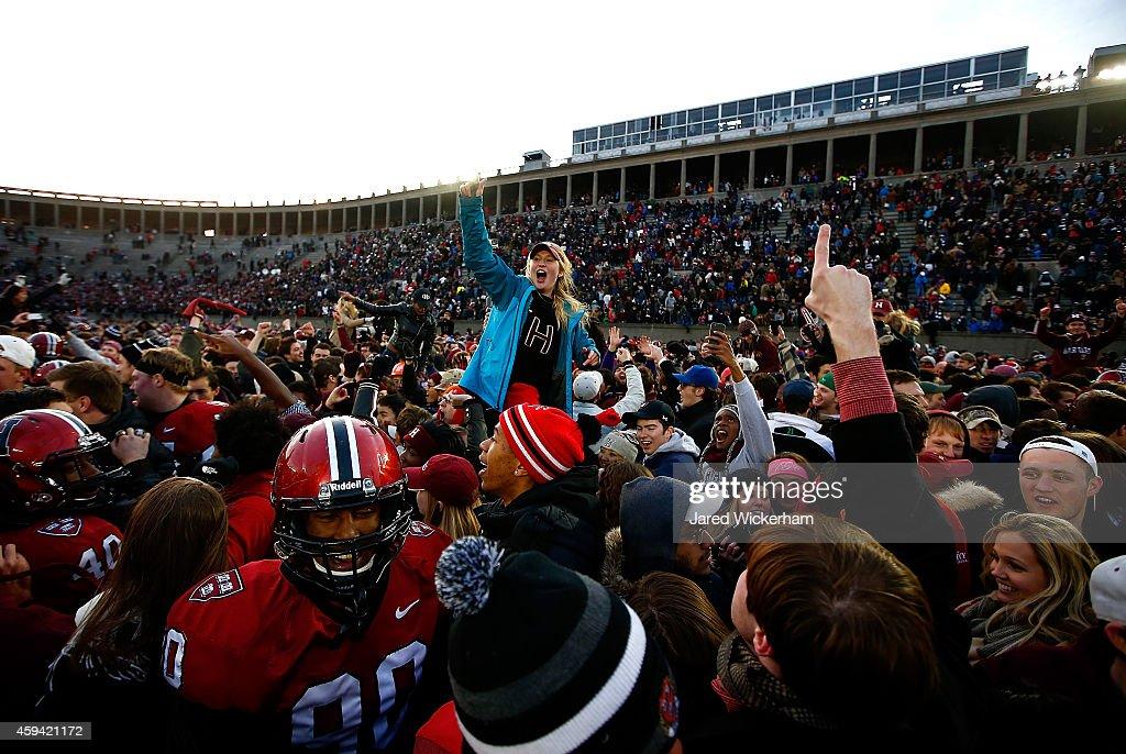 Yale v Harvard : ニュース写真