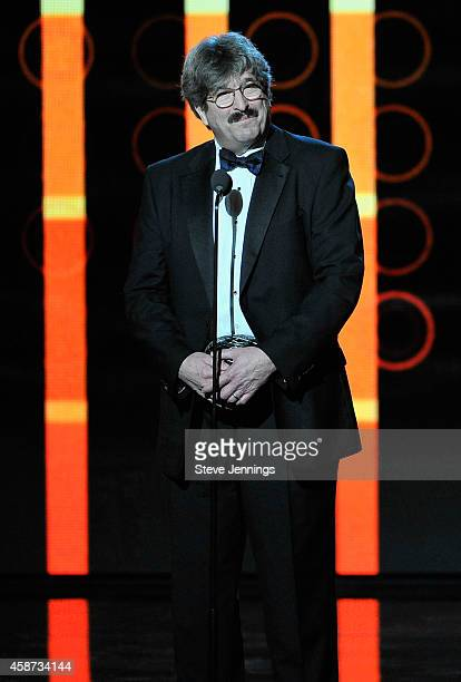 Harvard Medical School Professor and Molecular Biologist Gary Ruvkun speaks onstage during the Breakthrough Prize Awards Ceremony Hosted By Seth...
