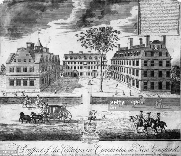 1638 Harvard University in the town of Cambridge established by Puritan leaders of the Massachusetts Bay Colony settled in New England