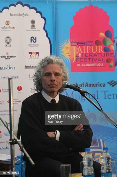 Harvard University Professor Steven Pinker in session 'In Defence of the Enlightenment' during DSC Jaipur Literature Festival 2012 in Jaipur on...