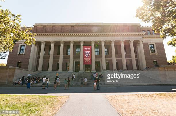 harvard widener library - harvard university stock pictures, royalty-free photos & images