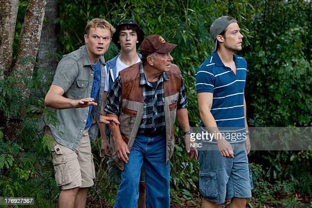 "Harvest Moon"" -- Episode 108 -- Pictured: Nikolai Nikolaeff David ""Cole' Coleman, Charles Grounds as Buzz Granger, Jack Thompson as Jack ""Grandad""..."