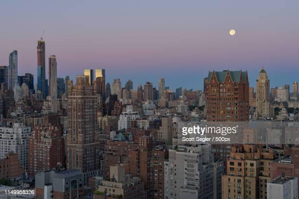 harvest moon - アッパーイーストサイドマンハッタン ストックフォトと画像