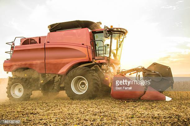 harvesting crops - combine harvester stock pictures, royalty-free photos & images