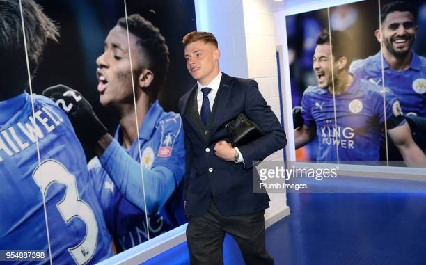 Harvey Barnes during the Premier League match between Leicester City and West Ham United at King Power Stadium on May 5th 2018 in Leicester United...