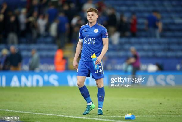 Harvey Barnes of Leicester City after the Premier League match between Leicester City and Southampton at King Power Stadium on April 19th 2018 in...