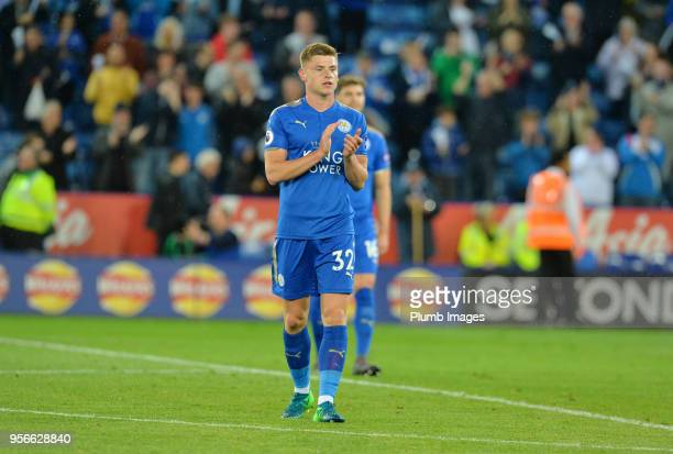 Harvey Barnes of Leicester City after the Premier League match between Leicester City and Arsenal at King Power Stadium on May 9th 2018 in Leicester...