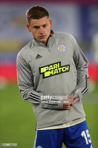 Harvey Barnes of Leicester City during the Carabao Cup Third Round match between Leicester City and Arsenal at The King Power Stadium on September 23...