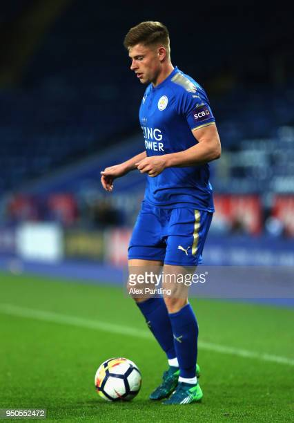 Harvey Barnes of Leicester City runs with the ball during the Premier league 2 match between Leicester City and Derby County at King Power Stadium on...