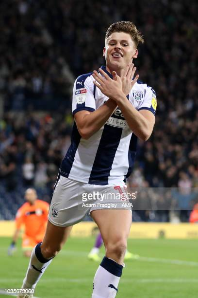 New signing Wes Hoolahan of West Bromwich Albion applauds the fans at the final whistle during the Sky Bet Championship match between West Bromwich...