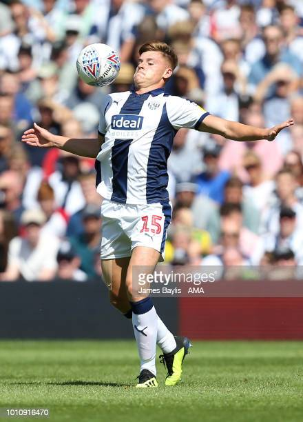 Harvey Barnes of West Bromwich Albion during the Sky Bet Championship match between West Bromwich Albion and Bolton Wanderers at The Hawthorns on...