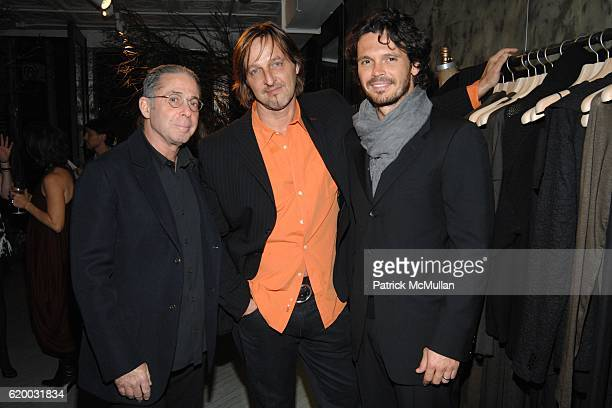 Harvey Cohen Luca Babini and Gianpaolo De Felice attend The 13th Annual ACRIA Holiday Dinner at The Urban Zen Center at The Stephan Weiss Studio on...
