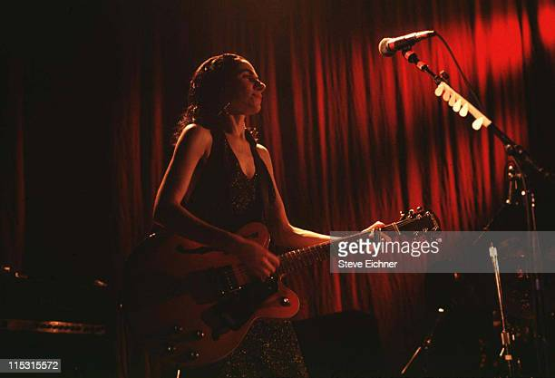 PJ Harvey during PJ Harvey in Concert at Academy 1993 at Academy in New York City New York United States