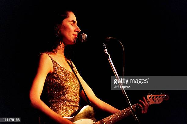 PJ Harvey during PJ Harvey in Concert at The Wiltern in Los Angeles CA United States