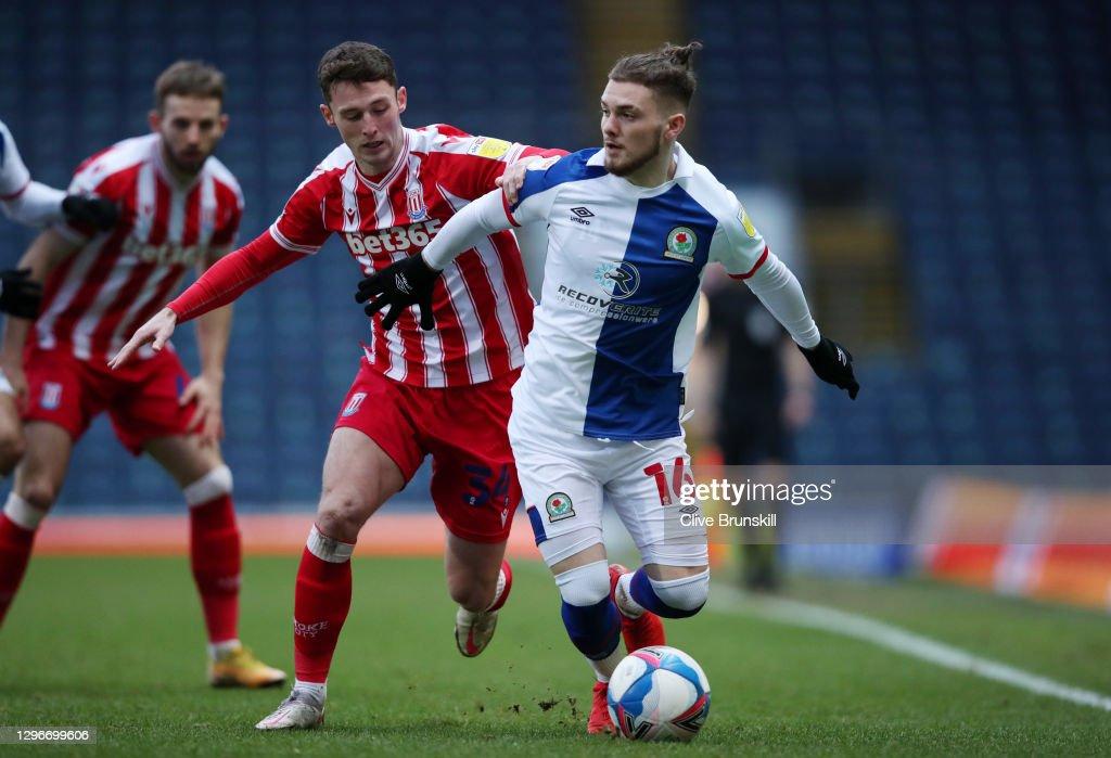 Blackburn Rovers v Stoke City - Sky Bet Championship : News Photo