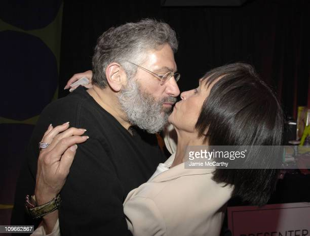 Harvey Fierstein and Chita Rivera during 59th Annual Tony Awards On 3 Productions Gift Suite at Radio City Music Hall in New York City New York...