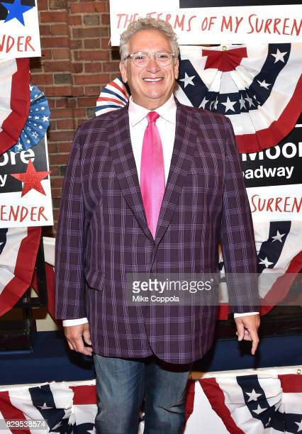 Harvey Fierstein attends The Terms Of My Surrender Broadway Opening Night at Belasco Theatre on August 10 2017 in New York City