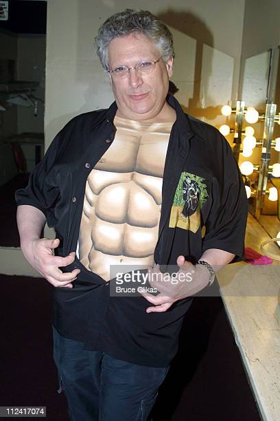 Harvey Fierstein during Broadway Bares 2003 Burlesque is Back at Roseland Ballroom in New York City New York United States