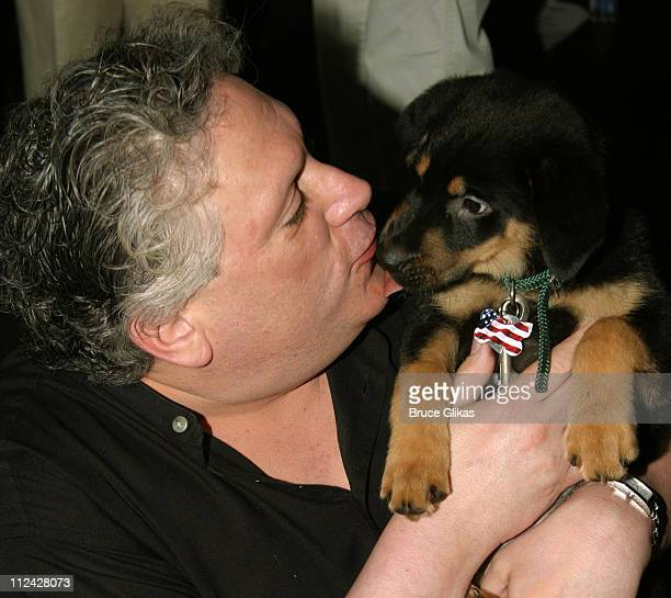 Harvey Fierstein during Broadway Barks 5 in Shubert Alley at Shubert Alley in New York City New York United States
