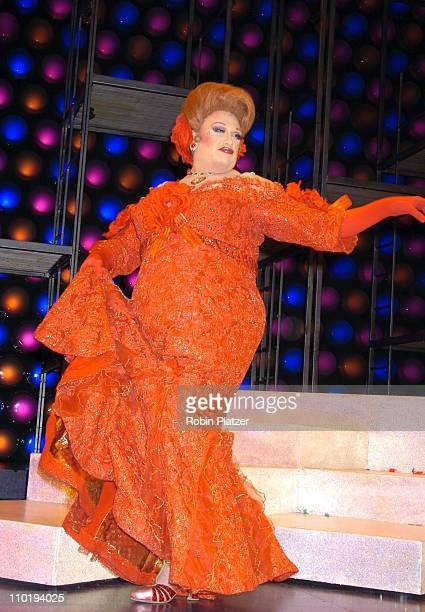 """Harvey Fierstein during Final Broadway Performance of Harvey Fierstein and Kathy Brier in """"Hairspray"""" at The Neil Simon Theatre in New York City, New..."""
