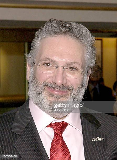 Harvey Fierstein during La Cage Aux Folles Broadway Opening Night at The Marquis Theatre in New York City New York United States