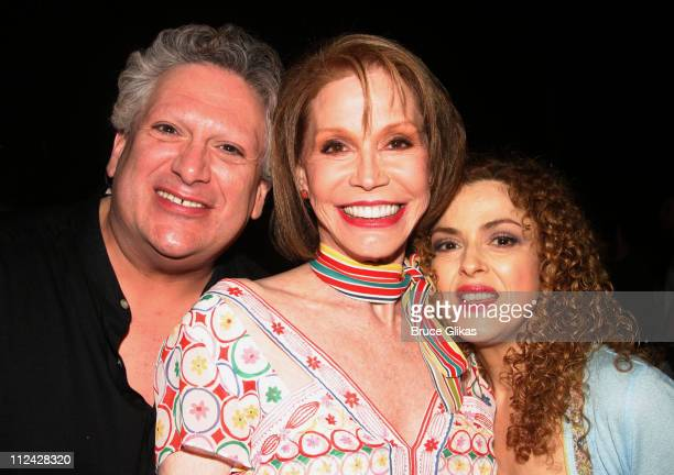 Harvey Fierstein Mary Tyler Moore and Bernadette Peters