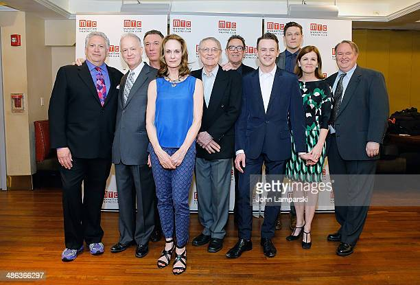 Harvey Fierstein Reed Birney Patrick Page Lisa Emery John Cullum Larry Pine Nick Westrate Gabriel Ebert Mare Winningham and Tom McGowan attend the...