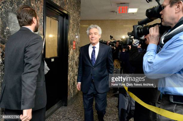 Harvey Fishbein in Manhattan Supreme Court on Friday January 30 2015 Fishbein the defense lawyer for Pedro Hernandez was attending the first day of...