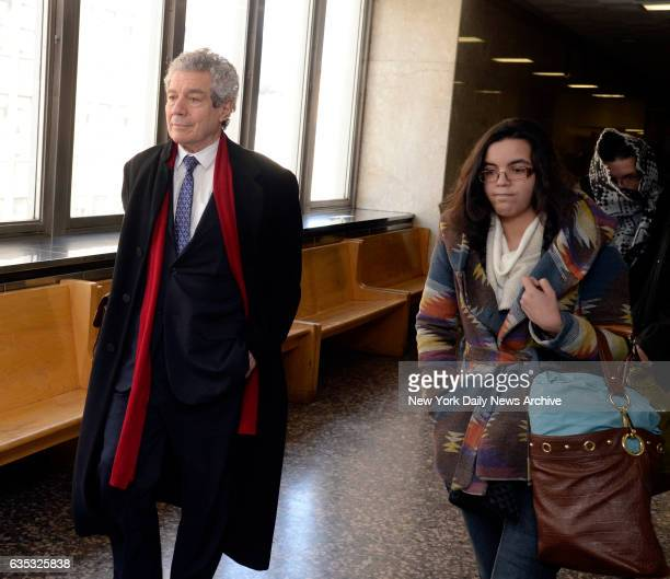 Harvey Fishbein the defense lawyer for Pedro Hernandez and Hernandez' daughter Becky in Manhattan Supreme Court on Friday February 10 2017 Pedro's...