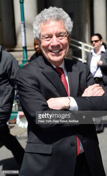 Harvey Fishbein the lawyer for Pedro Hernandez who was charged with killing Etan Patz on lower Broadway on Thursday April 21 2016
