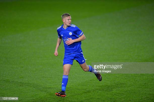 Harvey Godsmark-Ford of Leicester City during Leicester City v Sheffield Wednesday: FA Youth Cup at Leicester City Training Ground on March 5, 2021...